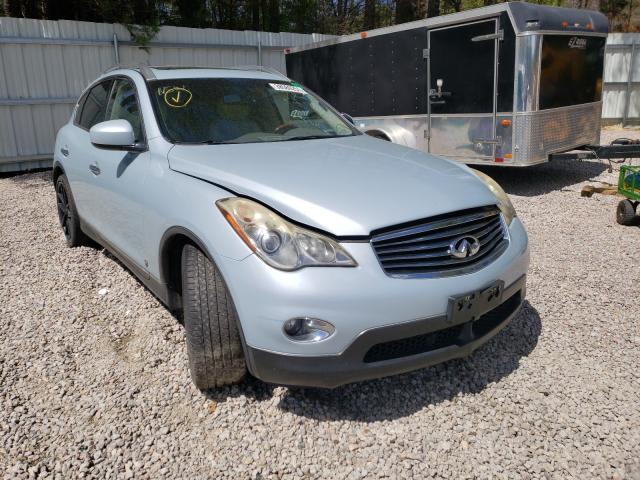 Salvage cars for sale from Copart Knightdale, NC: 2011 Infiniti EX35 Base