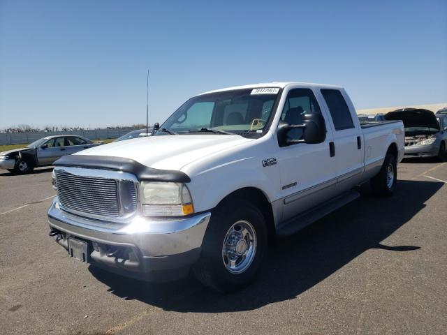 2002 FORD F250 SUPER - Left Front View