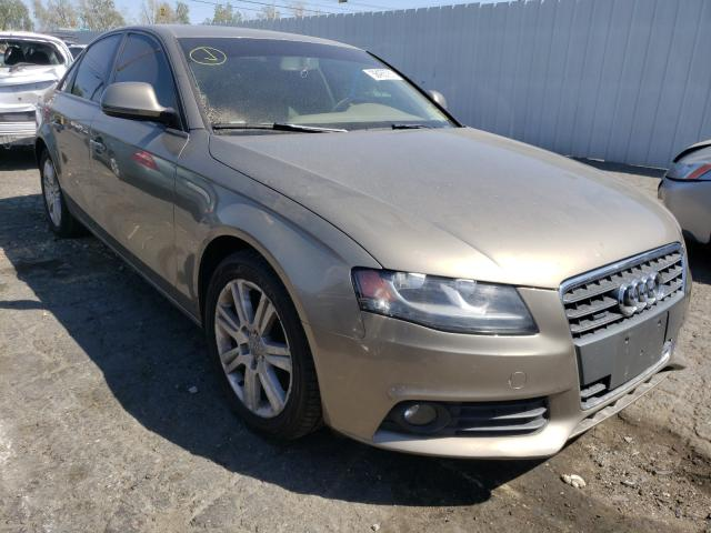 Salvage cars for sale from Copart Colton, CA: 2009 Audi A4 2.0T Quattro