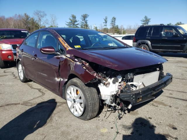 Salvage cars for sale from Copart Exeter, RI: 2017 KIA Forte LX