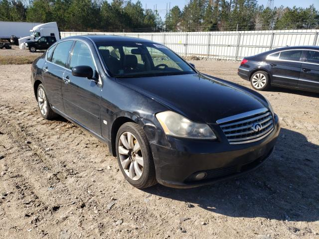 Salvage cars for sale from Copart Charles City, VA: 2007 Infiniti M35