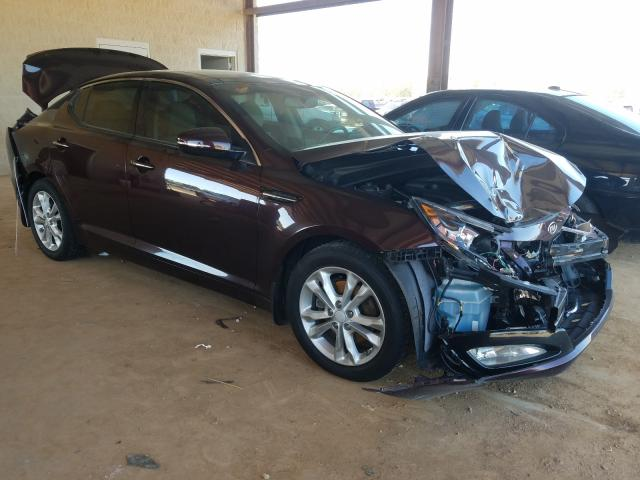 Salvage cars for sale from Copart Tanner, AL: 2012 KIA Optima EX