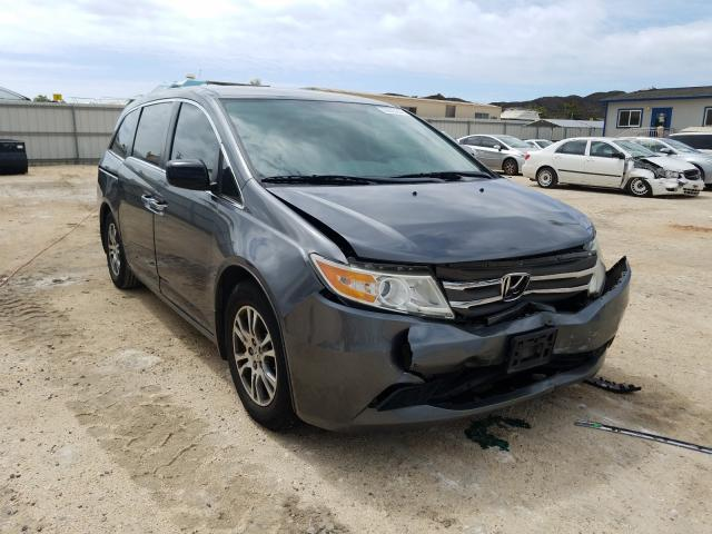 Salvage cars for sale from Copart Kapolei, HI: 2013 Honda Odyssey EX