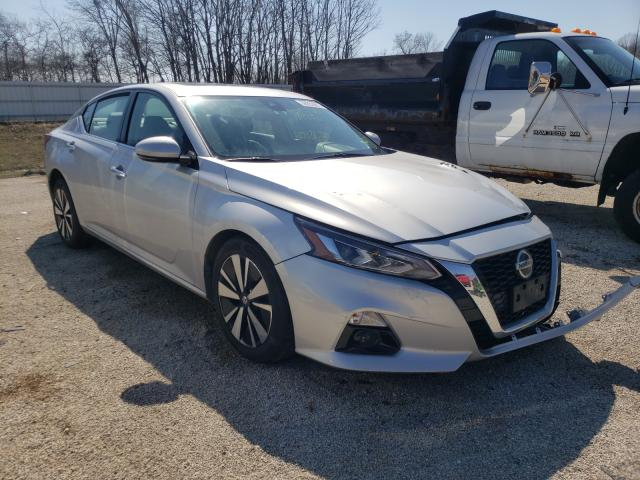 Salvage cars for sale from Copart Milwaukee, WI: 2020 Nissan Altima SL
