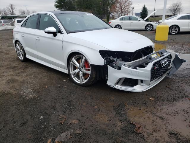 Audi RS3 salvage cars for sale: 2019 Audi RS3