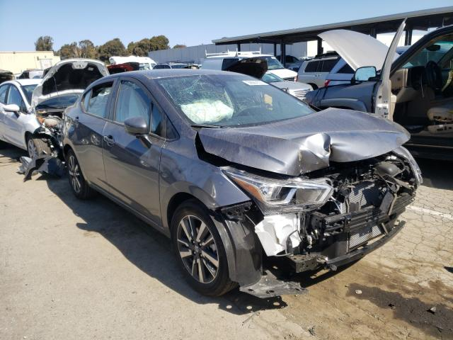 Nissan salvage cars for sale: 2021 Nissan Versa SV