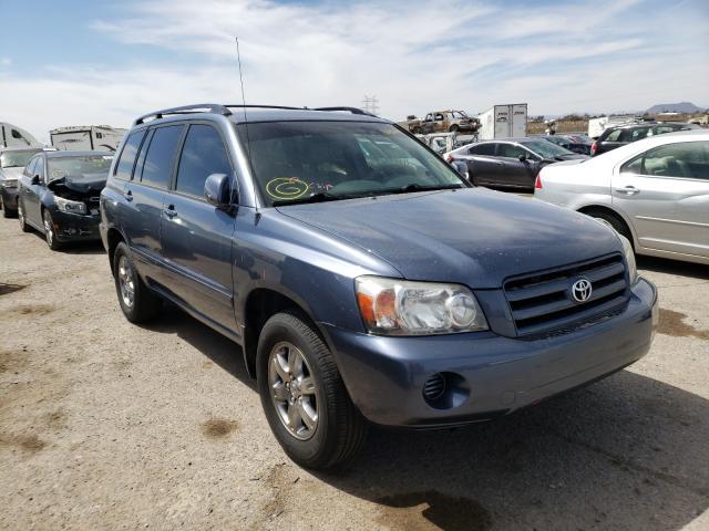 Salvage cars for sale at Tucson, AZ auction: 2007 Toyota Highlander