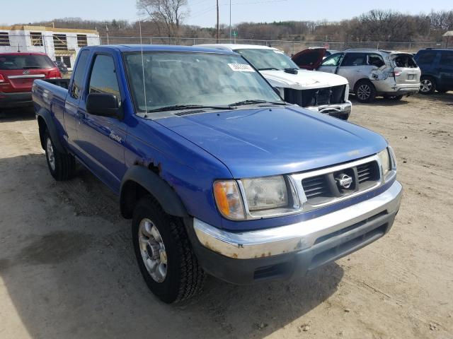 Salvage cars for sale from Copart Madison, WI: 1998 Nissan Frontier K