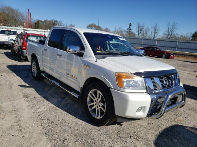 Salvage cars for sale from Copart Chatham, VA: 2013 Nissan Titan S