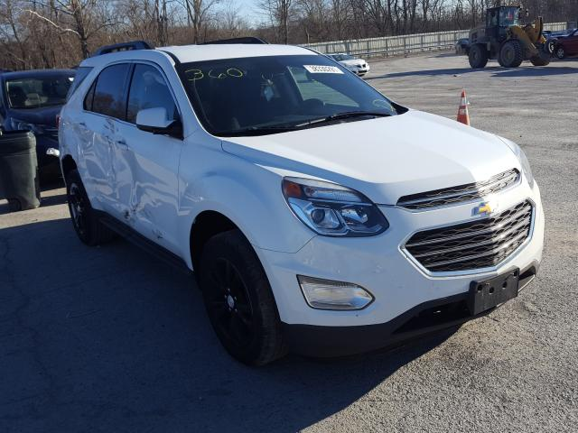 Salvage cars for sale from Copart Ellwood City, PA: 2017 Chevrolet Equinox LT