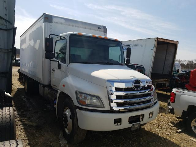 Salvage cars for sale from Copart Madison, WI: 2011 Hino 258 268