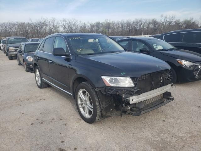 Salvage cars for sale from Copart Oklahoma City, OK: 2015 Audi Q5 Premium