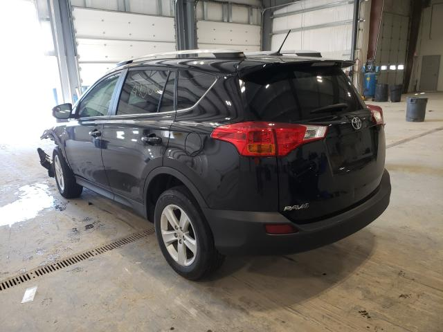 2014 TOYOTA RAV4 XLE - Right Front View