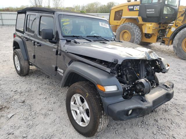 Salvage cars for sale from Copart Hueytown, AL: 2020 Jeep Wrangler U
