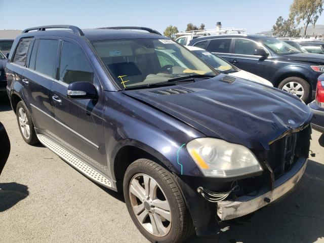 2008 MERCEDES-BENZ GL 450 4MA - Left Front View