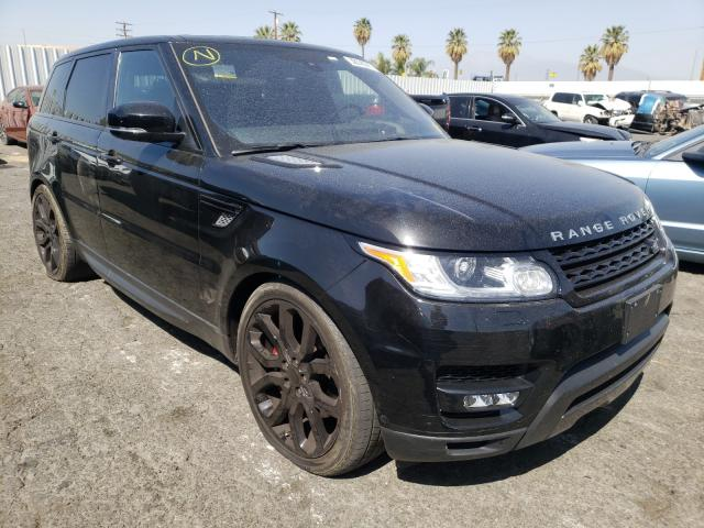 Salvage cars for sale from Copart Colton, CA: 2016 Land Rover Range Rover
