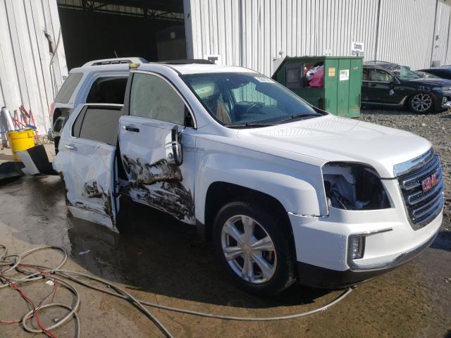 Salvage cars for sale from Copart Windsor, NJ: 2016 GMC Terrain SL