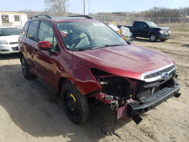 Salvage cars for sale from Copart Madison, WI: 2017 Subaru Forester 2