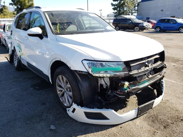 Salvage cars for sale from Copart Rancho Cucamonga, CA: 2019 Volkswagen Tiguan SE
