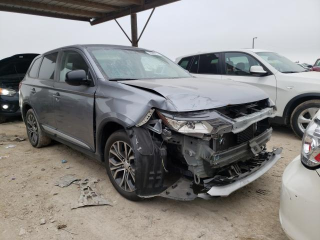 Salvage cars for sale from Copart Temple, TX: 2016 Mitsubishi Outlander