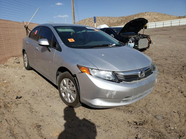 Salvage cars for sale from Copart Albuquerque, NM: 2012 Honda Civic