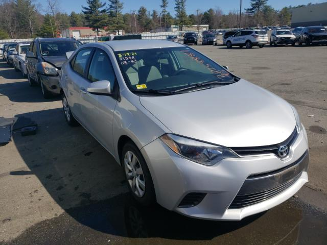 Salvage cars for sale from Copart Exeter, RI: 2015 Toyota Corolla L