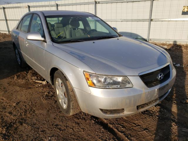 Salvage cars for sale from Copart Elgin, IL: 2008 Hyundai Sonata GLS