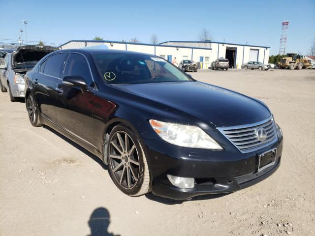 Salvage cars for sale from Copart Finksburg, MD: 2011 Lexus LS 460L