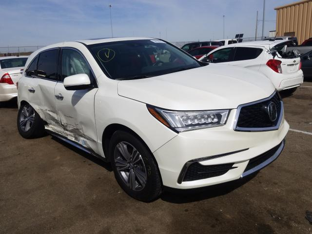 Salvage cars for sale from Copart Moraine, OH: 2019 Acura MDX