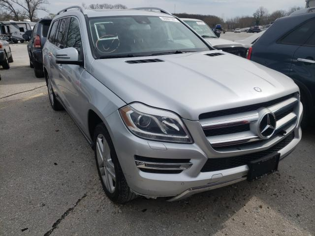 Salvage cars for sale from Copart Rogersville, MO: 2014 Mercedes-Benz GL 450 4matic