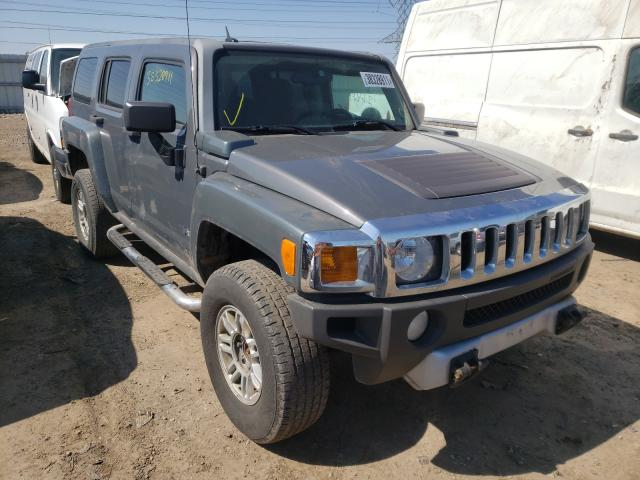 Salvage cars for sale from Copart Elgin, IL: 2009 Hummer H3