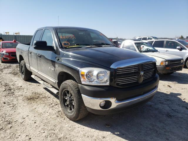 Salvage cars for sale from Copart Kansas City, KS: 2008 Dodge RAM 1500 S