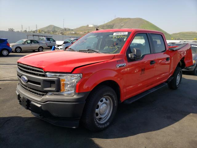 2020 FORD F150 SUPER - Left Front View