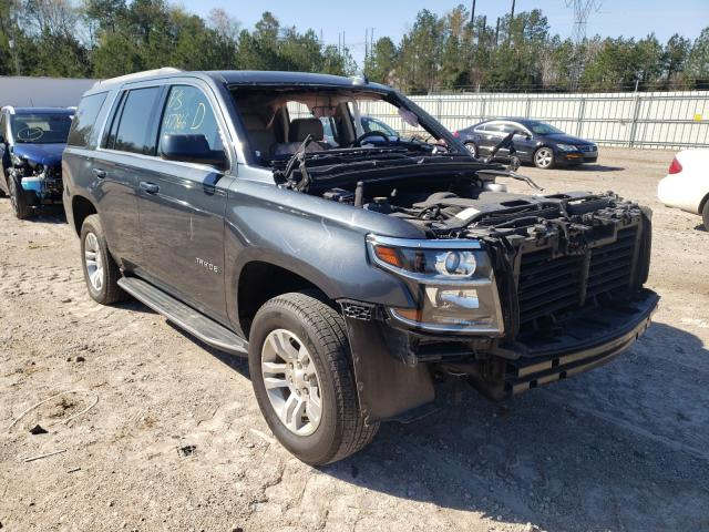 Salvage cars for sale from Copart Charles City, VA: 2019 Chevrolet Tahoe K150
