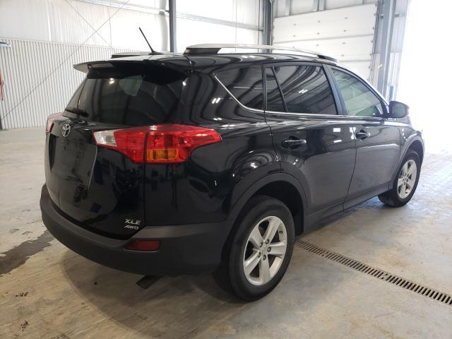 2014 TOYOTA RAV4 XLE - Right Rear View