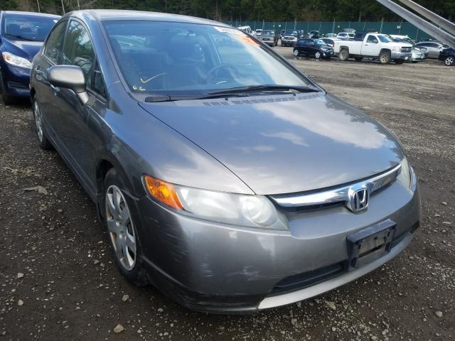 Salvage cars for sale from Copart Graham, WA: 2008 Honda Civic LX