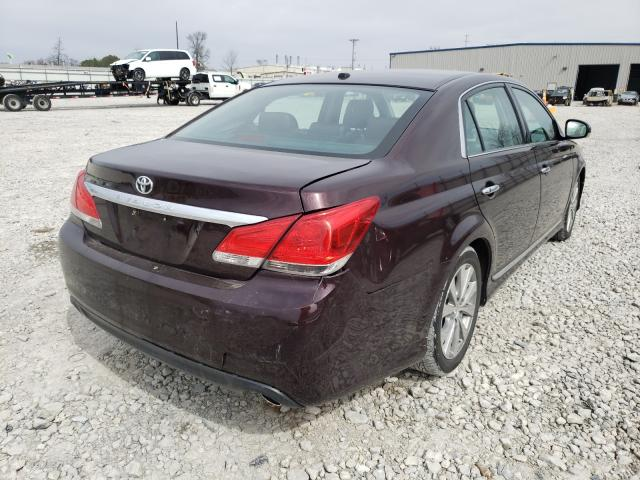 2011 TOYOTA AVALON BAS - Right Rear View