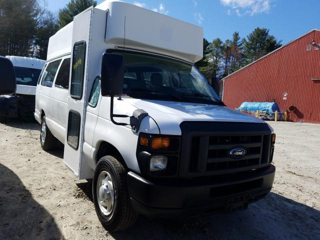Salvage cars for sale from Copart Mendon, MA: 2011 Ford Econoline