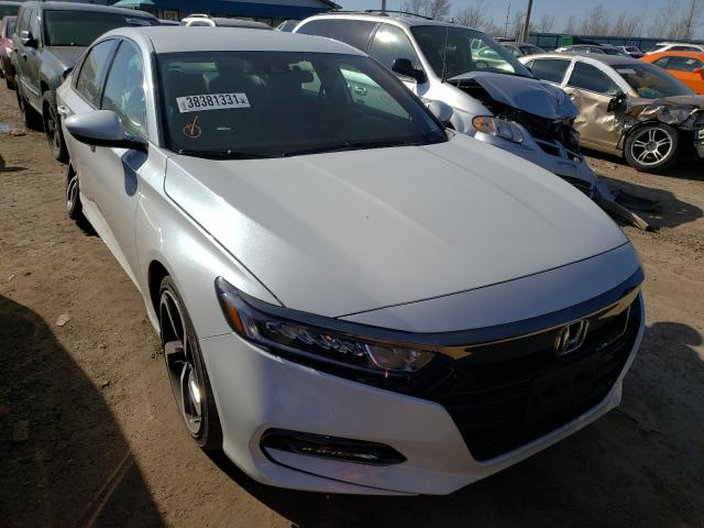 Honda Accord Sport salvage cars for sale: 2020 Honda Accord Sport