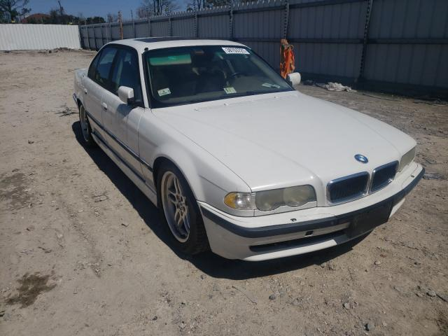 Salvage cars for sale from Copart Hampton, VA: 2001 BMW 740 I Automatic