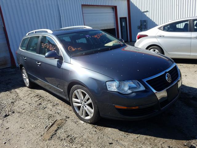 Salvage cars for sale from Copart Lyman, ME: 2009 Volkswagen Passat