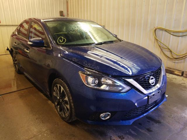 Salvage cars for sale from Copart Avon, MN: 2019 Nissan Sentra S