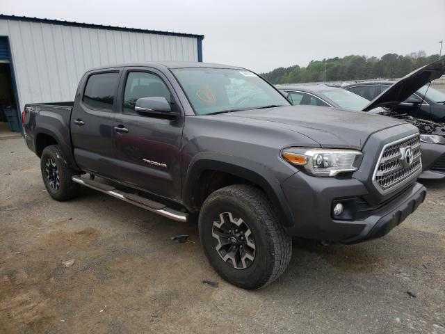 Salvage cars for sale from Copart Shreveport, LA: 2016 Toyota Tacoma DOU