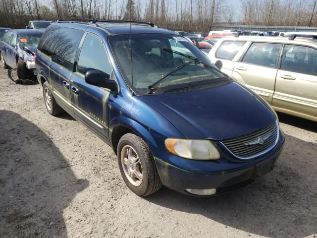 Chrysler salvage cars for sale: 2001 Chrysler Town & Country