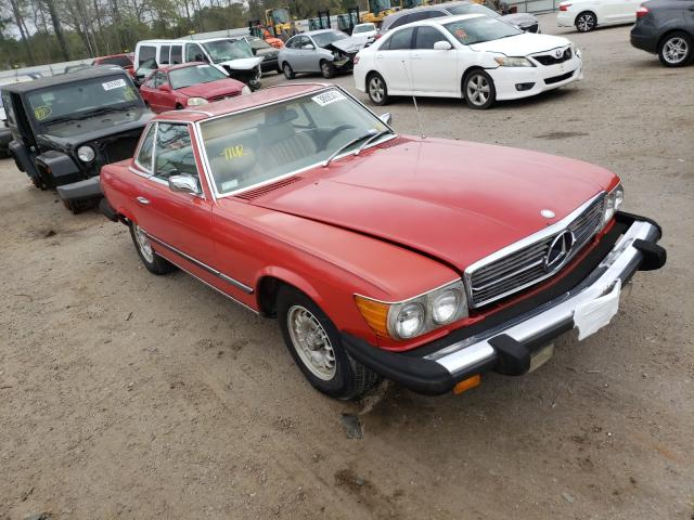 Mercedes-Benz 450 SL salvage cars for sale: 1974 Mercedes-Benz 450 SL