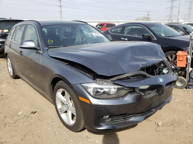 Salvage cars for sale from Copart Elgin, IL: 2015 BMW 328 XI