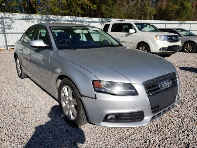 Salvage cars for sale from Copart Knightdale, NC: 2011 Audi A4 Premium