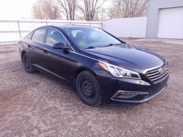 Salvage cars for sale from Copart London, ON: 2015 Hyundai Sonata SE