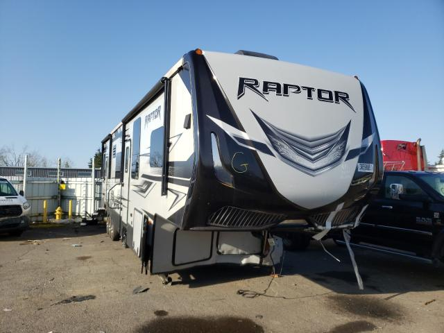 Keystone Raptor salvage cars for sale: 2018 Keystone Raptor