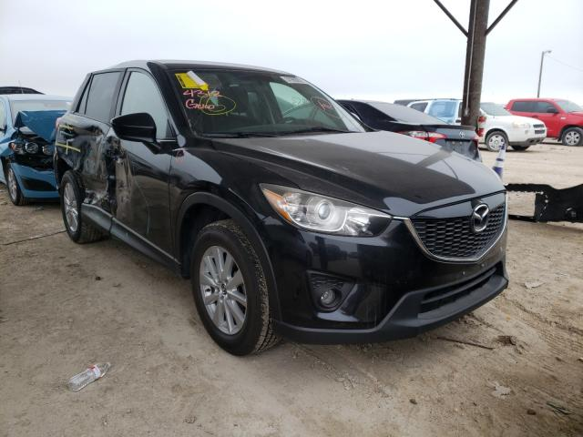 Salvage cars for sale from Copart Temple, TX: 2015 Mazda CX-5 Touring